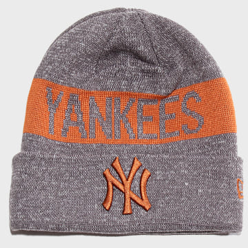 Bonnet Marl Cuff Knit 12040405 New York Yankees Gris Chiné
