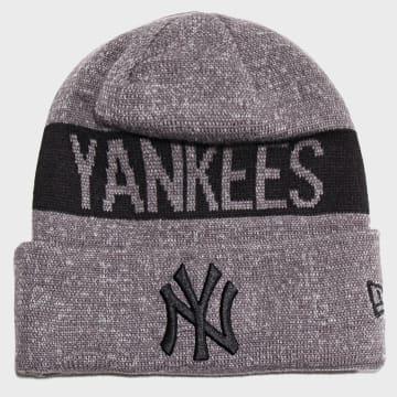 Bonnet Marl Cuff Knit 12040406 New York Yankees Gris Chiné