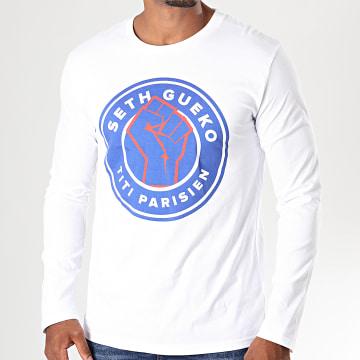Neochrome - Tee Shirt Manches Longues Titi Parisien Blanc