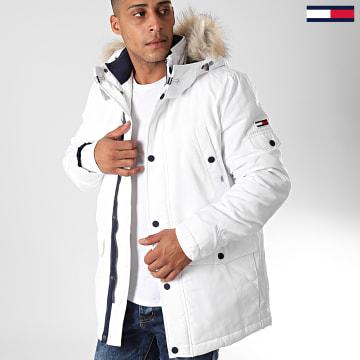 Parka Fourrure Tech 6907 Blanc Beige
