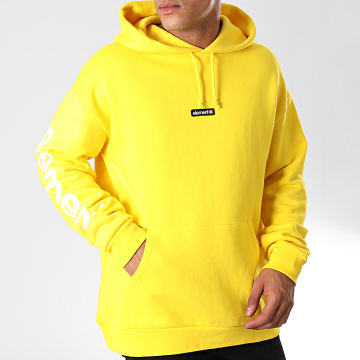 Sweat Capuche Primo Big Jaune