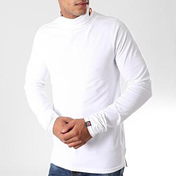 Pull Col Roulé Amica SHC05233 Blanc