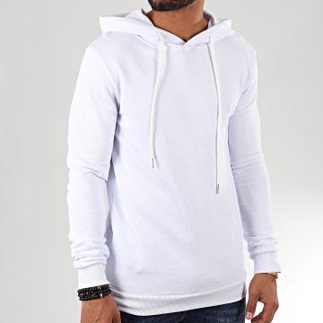 Uniplay - Sweat Capuche UY451 Blanc