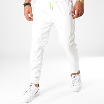 Pantalon Jogging UP-T3502 Gris Vert Fluo