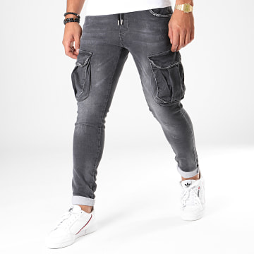 Uniplay - Jean Slim 132 Gris Antracite