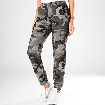 Jogger Pant Femme TB3047 Gris Camouflage