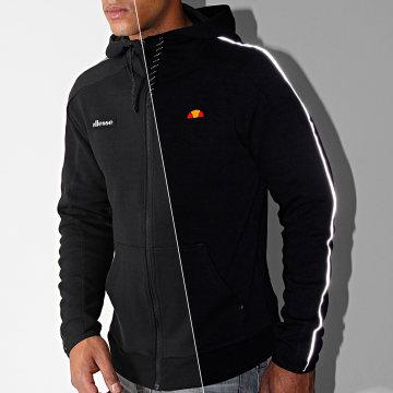 Sweat Capuche Zippé Averello SXC07356 Noir