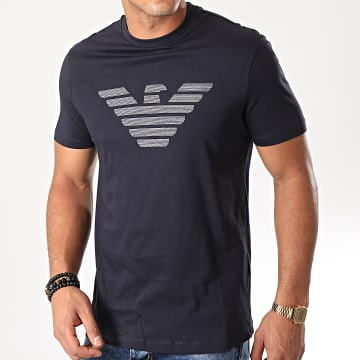 Tee Shirt 6G1TC0-1J00Z Bleu Marine