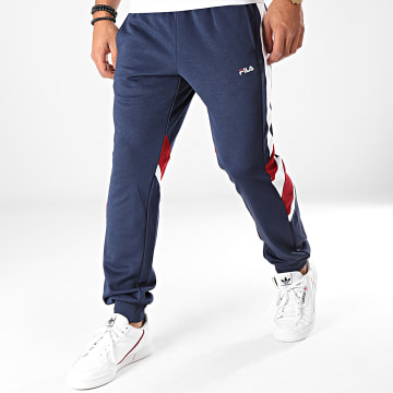 Pantalon Jogging A Bandes Neritan 687240 Bleu Marine