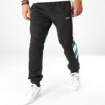 Pantalon Jogging A Bandes Neritan 687240 Noir