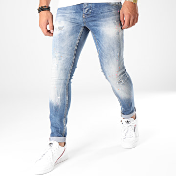 Jean Slim 123 Bleu Wash