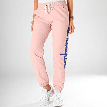 Champion - Pantalon Jogging Femme Elastic Cuff Pant 112151 Rose Clair