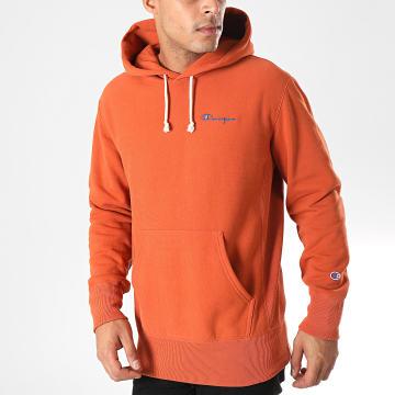 Sweat Capuche 212967 Orange Foncé