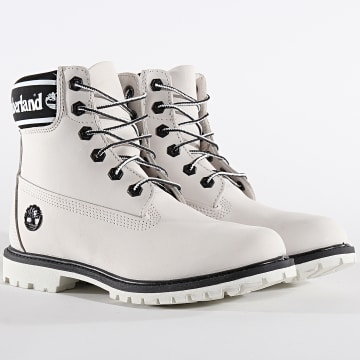 Timberland - Boots Femme 6 Inch Premium Waterproof A24JJ White Nubuck