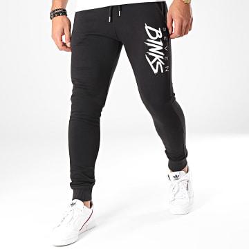 Pantalon Jogging Logo Noir Blanc