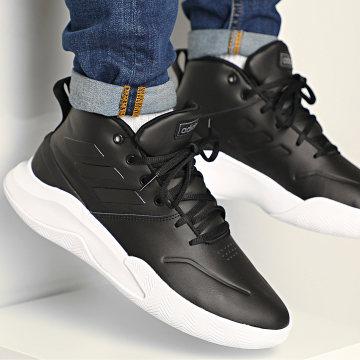 Adidas Performance - Baskets Own The Game EE9638 Footwear White Core Black Night Metallic