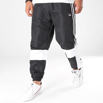 Adidas Originals - Pantalon Jogging A Bandes ASYMM ED6244 Noir Blanc