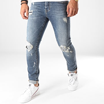 GRJ Denim - Jean Slim 13936 Bleu Denim