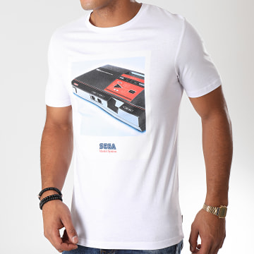Jack And Jones - Tee Shirt Sega MasterSystem Blanc