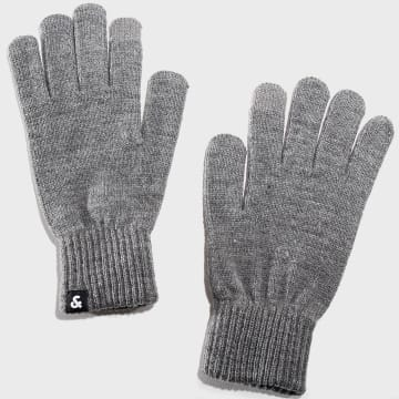 Jack And Jones - Gants Barry Gris Chiné