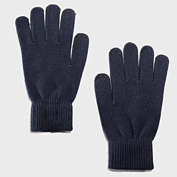 Jack And Jones - Gants Henry Bleu Marine