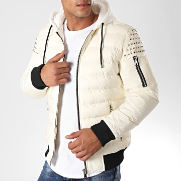 MTX - Blouson Capuche Avec Clous 960 Blanc