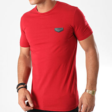 Tee Shirt Logo Basic MMKS01430 Rouge