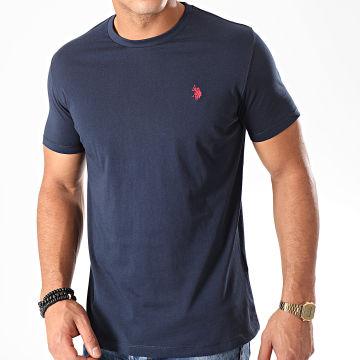 Tee Shirt Basic USPA Bleu Marine