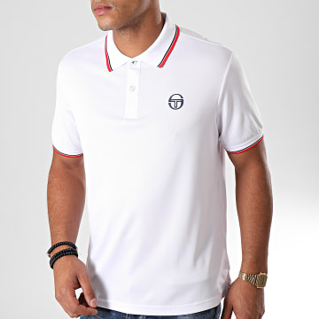 Polo Manches Courtes Reed 017 37382 Blanc Rouge Noir