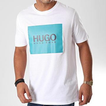 HUGO by Hugo Boss - Tee Shirt Dolive 194 50422155 Blanc Bleu Canard