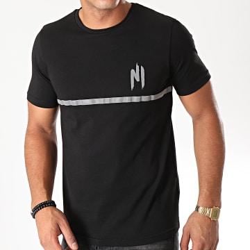 Ninho - Tee Shirt Ninho LV Reflector 006 Noir Réfléchissant