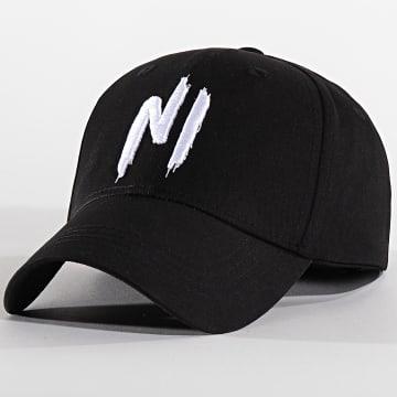 Ninho - Casquette Ni Logo Noir Blanc
