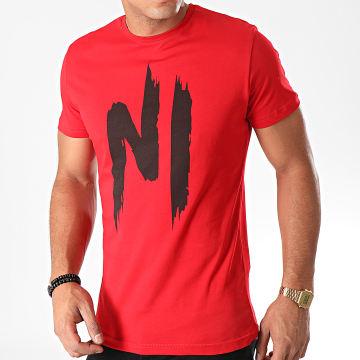 NI by Ninho - Tee Shirt Ni 001 Rouge
