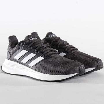 Adidas Performance - Baskets RunFalcon F36200 Grey Six Footwear White Core Black