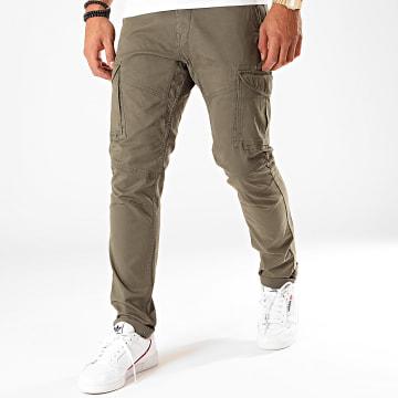 Pantalon Cargo 581 Vert Kaki