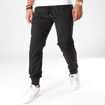 Jogger Pant Reflex Rib Noir