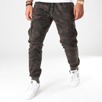 Reell Jeans - Jogger Pant Reflex Rib Gris Anthracite Camouflage