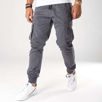 Reell Jeans - Jogger Pant Reflex Rib Gris Anthracite