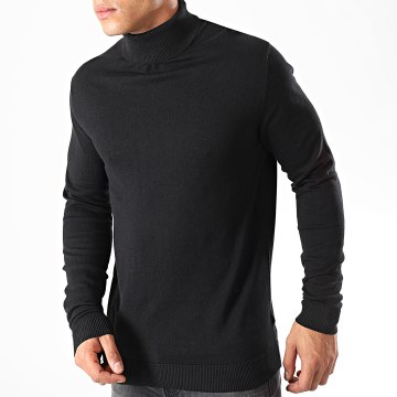 Selected - Pull Col Roulé Tower Noir