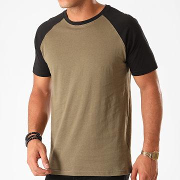 Urban Classics - Tee Shirt TB639 Vert Kaki Noir