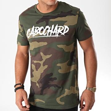 25G - Tee Shirt Cabochard Camouflage Vert Kaki