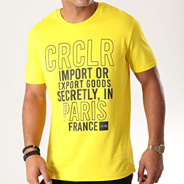 C'est Rien C'est La Rue - Tee Shirt Goods Jaune Noir