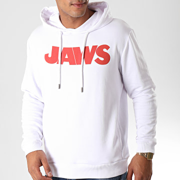 Films et Séries TV - Sweat Capuche No Shark Blanc