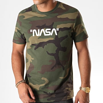 Tee Shirt Quote Camouflage Vert Kaki