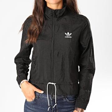 Adidas Originals - Veste Zippée Femme Ruffle ED4741 Noir