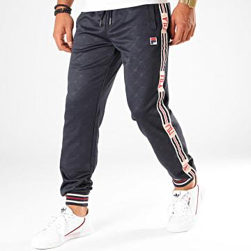 Pantalon Jogging A Bandes Avtandie EM 687300 Bleu Marine