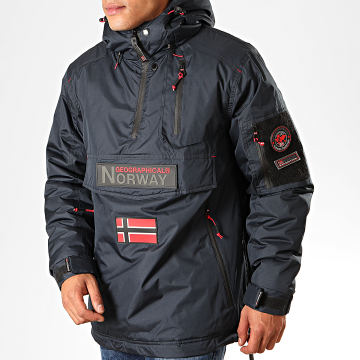 Geographical Norway - Veste Outdoor Barker Bleu Marine