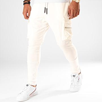 Ikao - Pantalon Jogging F675 Ecru