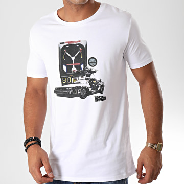 Back To The Future - Tee Shirt Convecteur Blanc
