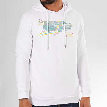 Films et Séries TV - Sweat Capuche Drawing Blanc